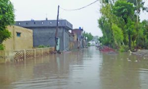 Rain Water, filled, Streets, People Upset, Punjab