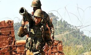 Indian, Army, Fired,  Terrorist, Infiltration, Border