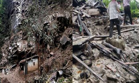 Landslide, Alert, 15 Villages, Nepal