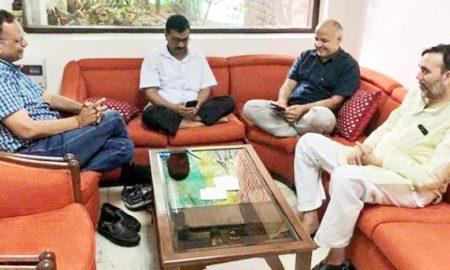 Kejriwal, CM, Holding, LG, Office, 38 Hours,