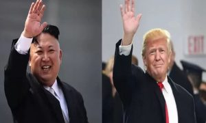 North Korean, Leader, Kim, Jong, Leaves, Singapore