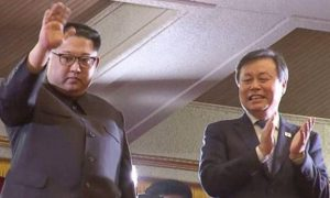Kim Jong return home after participating in summit