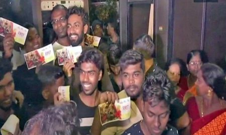 Rajinikanth's, 'Black', Released, Protest, Today, From, 3pm