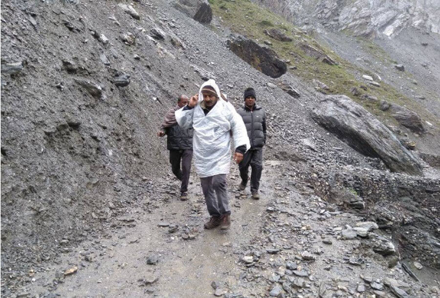 Himachal Pradesh, Manali-Leh, Highway, Completely, Closed