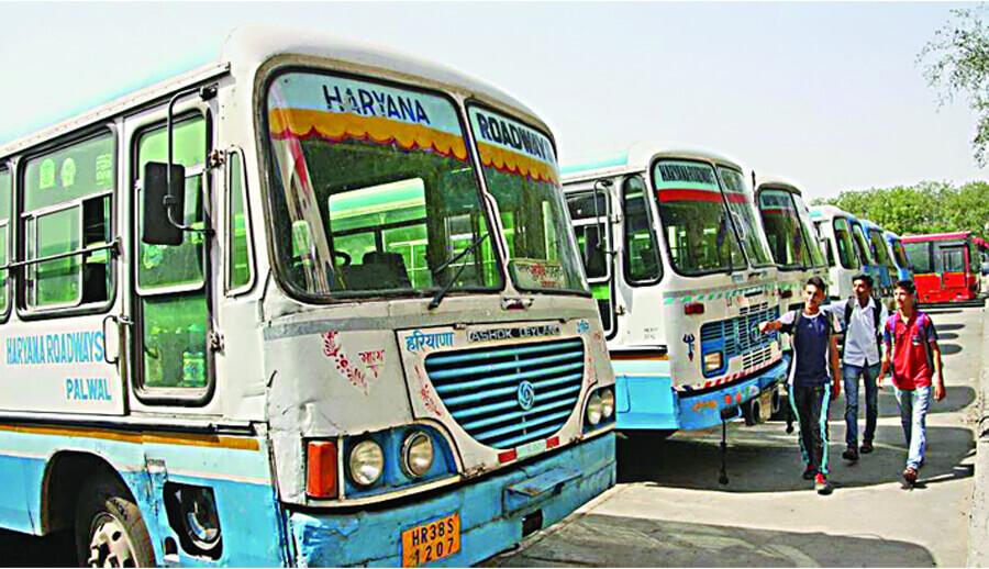 Haryana Roadways, Increase, Number Buses, UP