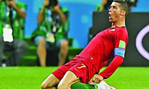 Football, World, Cup:, Portugal, Morocco,