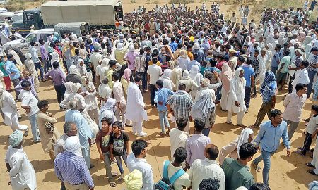 Great, Crowd, Jammu Kashmir, Rajsthan, Martyrs