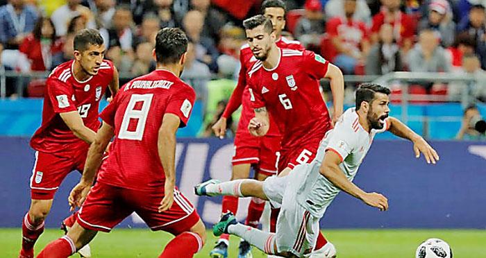 Spain, Iran, Fifa, Worldcup, Paris, 2018, sports