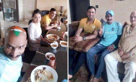 Dhoni's cricket fan Sudhir's guest nawazi