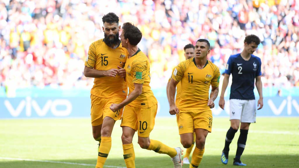 France, Australia, Equal 1-1