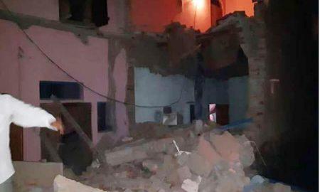 Agra, Bolster, Blast, Four Killed