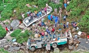 Bus Accident, Dehradun, Died