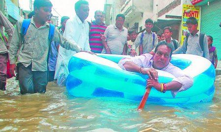Heavy Rain, Bathinda, Punjab