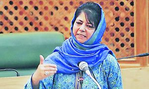 India, Anti, Mehbooba Mufti, Statement