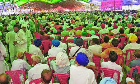 Punjabis, Narendra Modi, MLKhattar, Parkash Singh Badal, Kisan Raily
