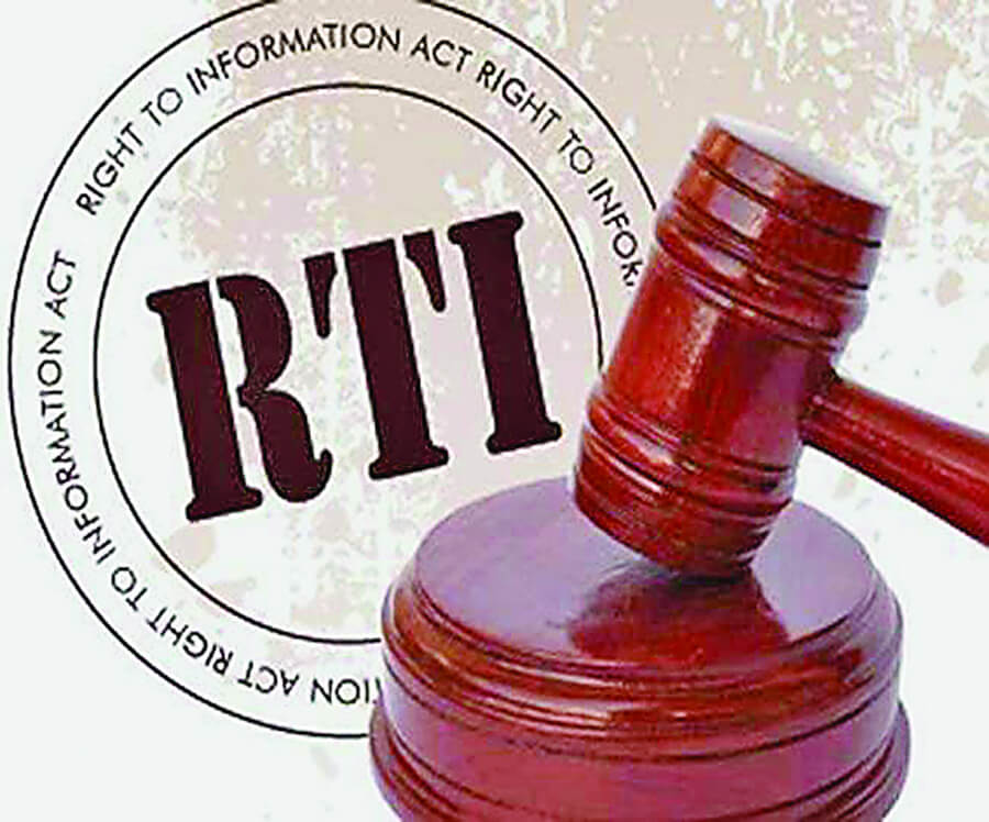 RTI, Officials, Negligence, Making ACT Weak
