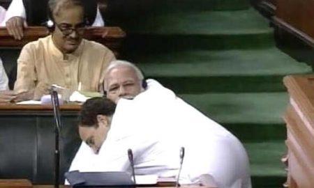 Rahul Gandhi, Magical Hug, PM Narendra Modi
