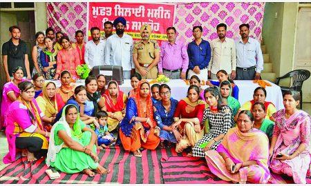 Distributed, Sewing Machines, Sewing Training Girls, Punjab