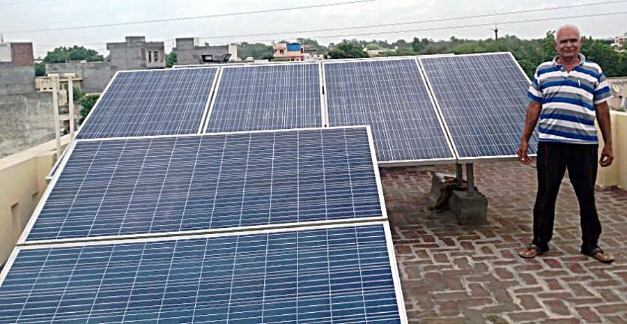 Electricity Bills, Solar Energy, Villagers, Savings, Haryana