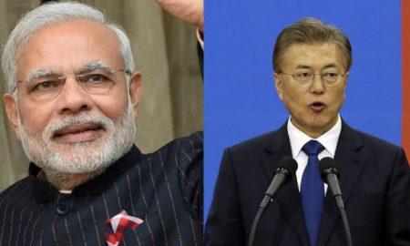 South Korea's President visit India
