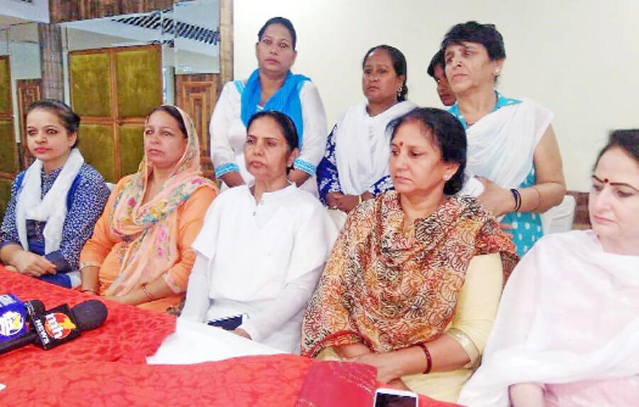 Women Congress, Opposition , Triple Divorce, Haryana