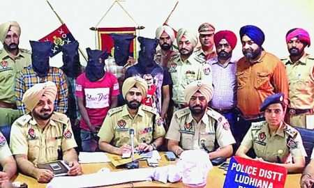 Five Arrested, Including, Weapons, Murder, Pujnab