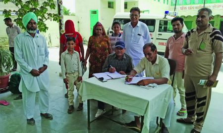 Shah Satnami Mouj Dispensary, Organized, Free, Medical Check Up Camp, Punjab