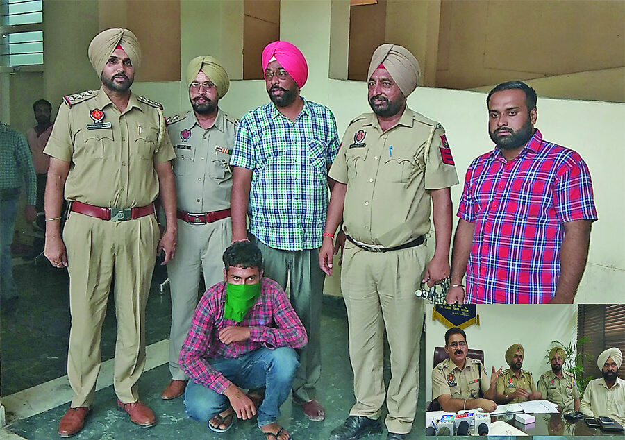Murder, Accused, Arrested, Weapons, Punjab