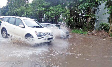 Panchkula: Rain Water, Filled, Sectors, Haryana