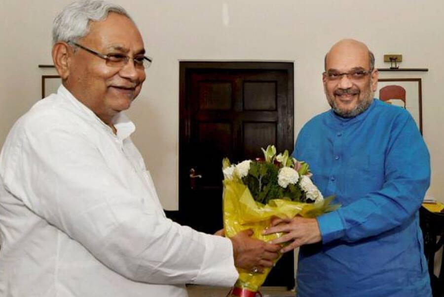 Amit Shah, Nitish, Meet, Today