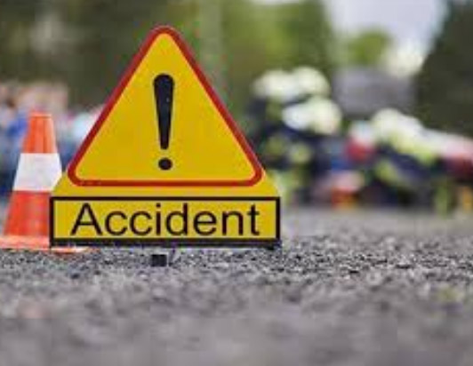 Accident in Agra