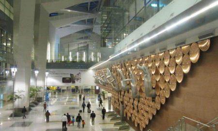 Woman, Ruckus, Delhi Airport