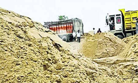 Drops Excessive Sand Mining Groundwater levels