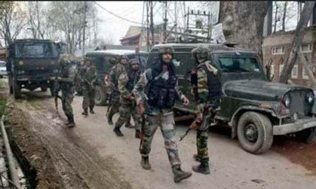 Explosions in South Kashmir