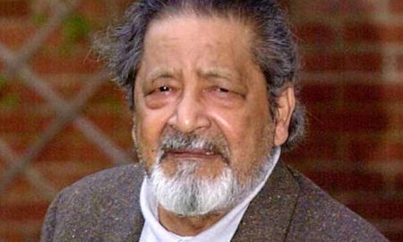 Nobel, Prize Winner, Indian, Origin Writer, V.S.Naipaul, dies