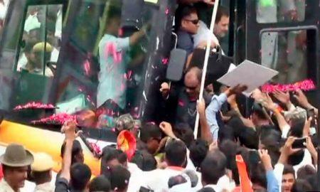 Rahul Gandhi, Road Show, Jaipur