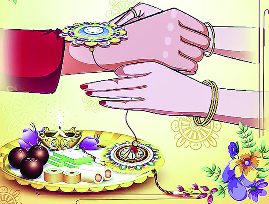 Realizing love Is 'Rakshabandhan'