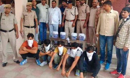 Jind, Robbers, Arrested