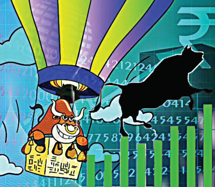 Sensex, First touched, 38000, Nifty, Touched, Around 11,500