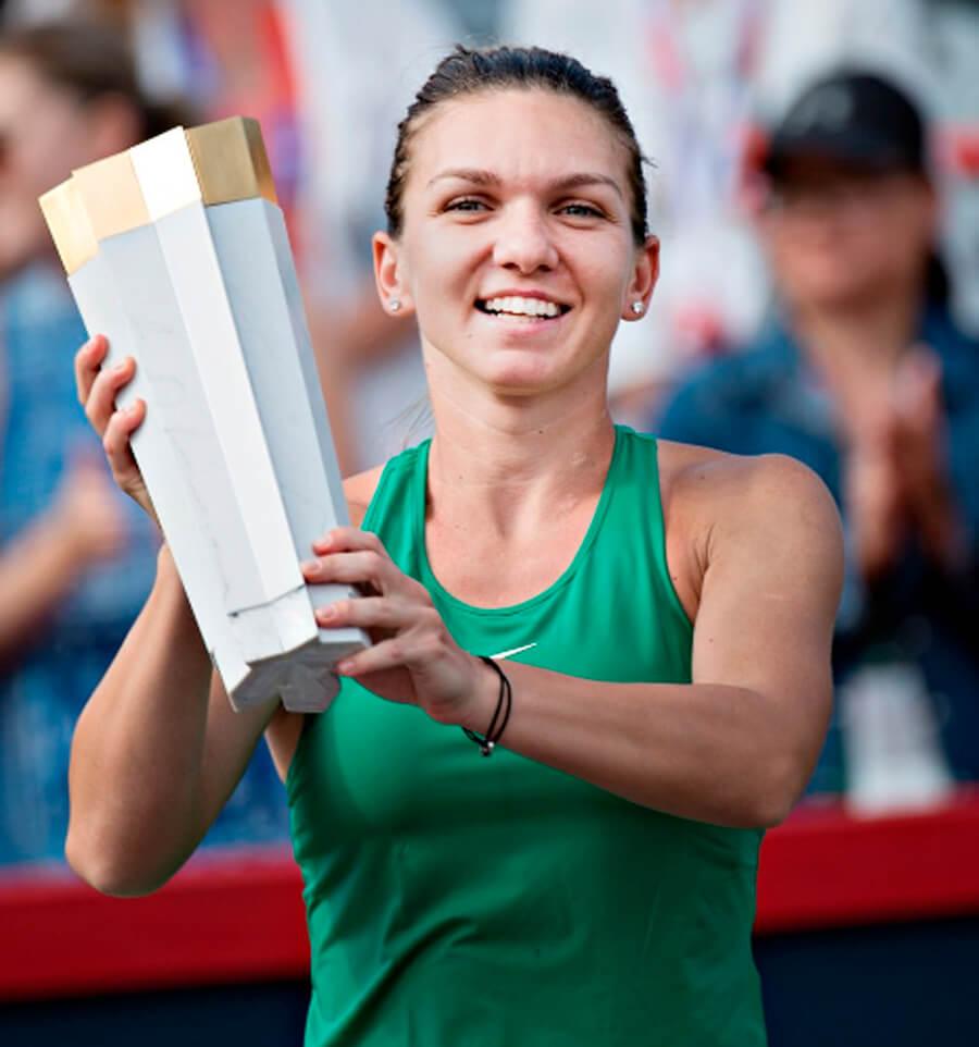 Halep, won, Rogers Cup, Stephens, Sports, Tennis