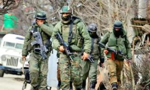 Srinagar:, Security forces, Attack, Two, Terrorists