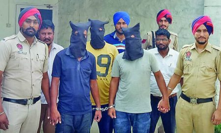 Three Peoples, Arrest, Sarpanch, Punjab