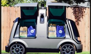 Home, Delivery, Grossy, Driverless, Car