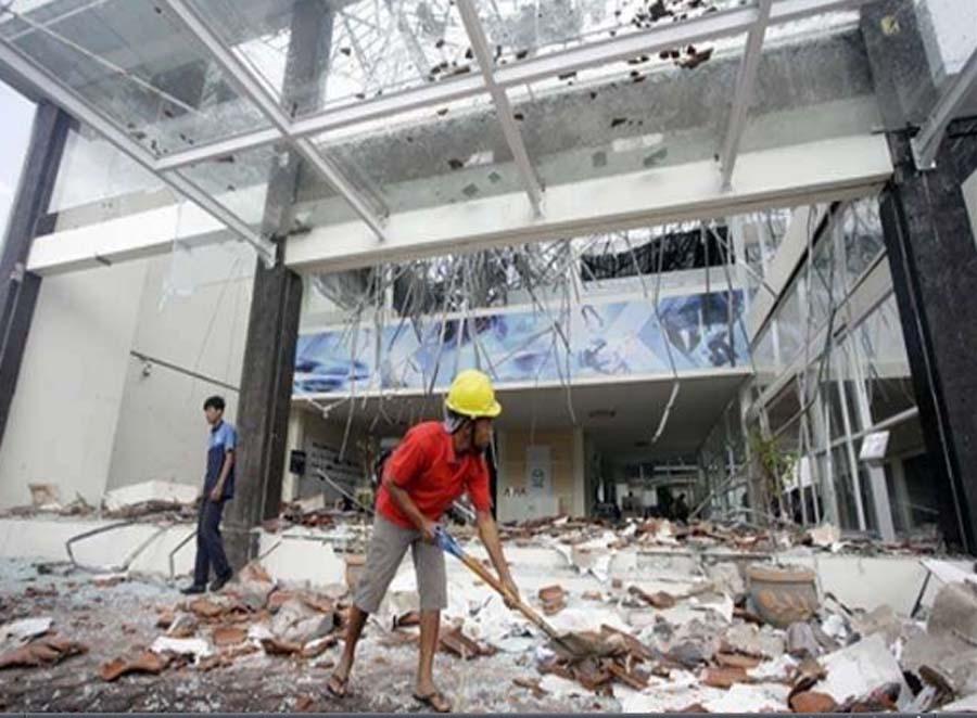 People, Killed, Earthquake, Indonesia, Injured