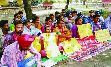 Student, Hunger Strike, Meet, Demands, Punjab