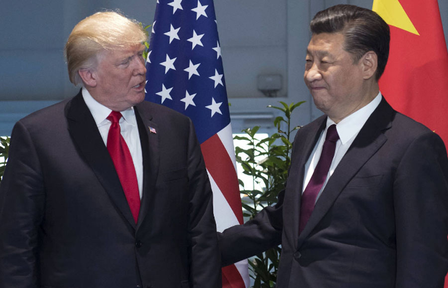 US, China, Official, Meet, Duty