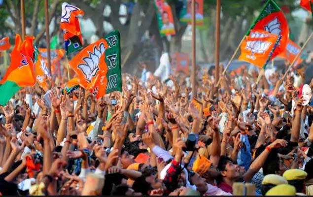 BJP worker Mahakumbh in Bhopal