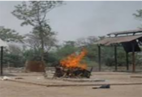 Cremation ground for Hindus
