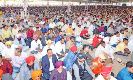 Lakhs,  People, reaches, dera, sacha, sauda, celebration, pious, benevolence day