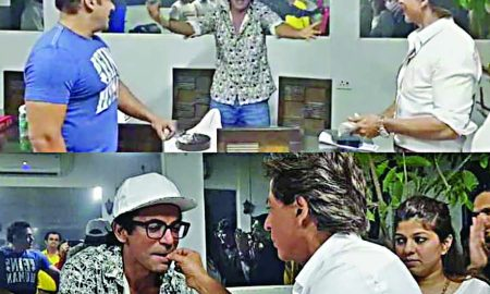 Salman-Shahrukh celebrated the birthday of Sunil Grover